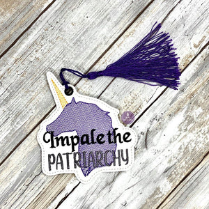Impale the Patriarchy Bookmark 4x4 DIGITAL DOWNLOAD
