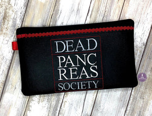 Dead Pancreas Society ith bag 4 sizes available lined DIGITAL DOWNLOAD