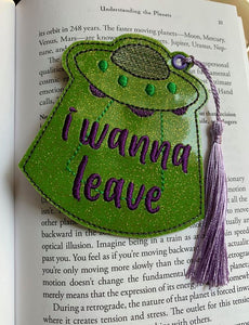 I wanna leave bookmark 4x4 DIGITAL DOWNLOAD