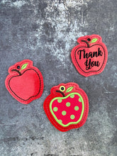 Load image into Gallery viewer, Apple gift tag/charm set 4x4 DIGITAL DOWNLOAD