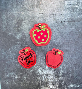Apple gift tag/charm set 4x4 DIGITAL DOWNLOAD