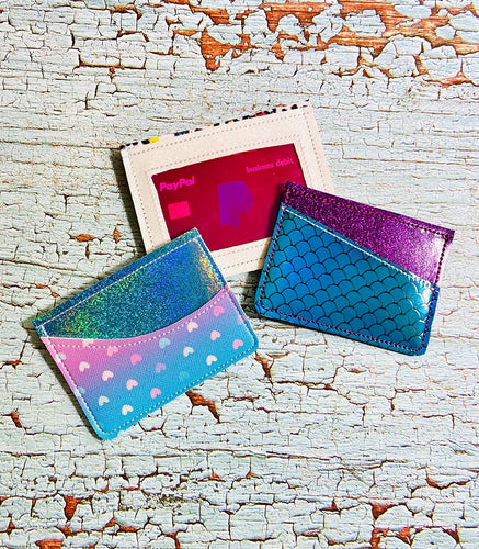 ITH Wallet Set of 3 designs 5x7 Hoop DIGITAL DOWNLOAD