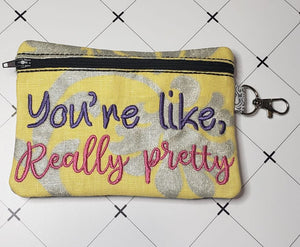 Really Pretty ITH bag 4 sizes available DIGITAL DOWNLOAD