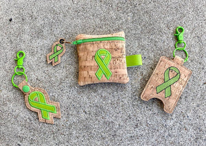 Awareness Ribbons set of 4 designs DIGITAL DOWNLOAD