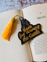 Load image into Gallery viewer, Have fun storming the castle bookmark/ornament 4x4 DIGITAL DOWNLOAD