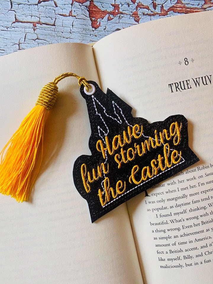 Have fun storming the castle bookmark/ornament 4x4 DIGITAL DOWNLOAD