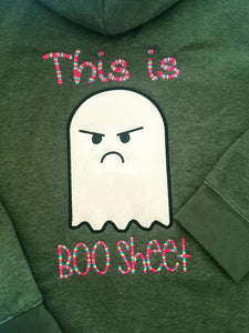Boo Sheet Applique Embroidery Design 5 sizes included DIGITAL DOWNLOAD