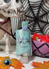 Load image into Gallery viewer, Dragon Head ITH Sanitizer Holder Fits 1oz bottles DIGITAL DOWNLOAD 5x7and 4x4 hoop