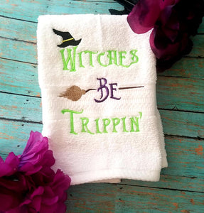 Witches be trippin sketch embroidery design 5 sizes included DIGITAL DOWNLOAD