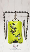 Load image into Gallery viewer, Zombie Hand ITH Hand Sanitizer Holder fits 1 oz 5x7 Hoop DIGITAL DOWNLOAD