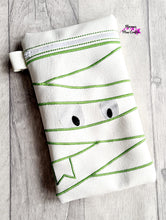 Load image into Gallery viewer, Mummy Applique ITH Bag 3 sizes available DIGITAL DOWNLOAD