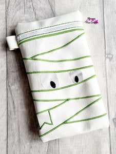 Mummy Applique ITH Bag 3 sizes available DIGITAL DOWNLOAD