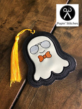 Load image into Gallery viewer, Cool Ghost Bookmark/Ornament DIGITAL DOWNLOAD