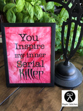 Load image into Gallery viewer, Inner Serial Killer 5 sizes included embroidery design DIGITAL DOWNLOAD