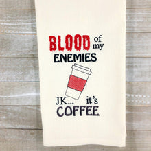 Load image into Gallery viewer, Blood of my enemies Embroidery Design 4 sizes included DIGITAL DOWNLOAD