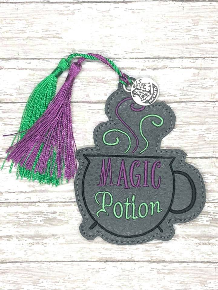 Magic Potion Bookmark/Ornament 4x4 DIGITAL DOWNLOAD