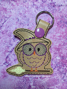 Witch Owl Snap tab single and multi files included DIGITAL DOWNLOAD