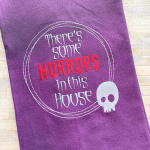 Horrors in this house 5 sizes included DIGITAL DOWNLOAD