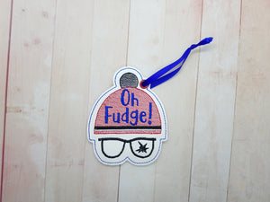 Oh Fudge! Ornament DIGITAL DOWNLOAD