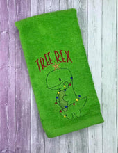 Load image into Gallery viewer, Tree Rex embroidery design 2 versions and 5 sizes included DIGITAL DOWNLOAD