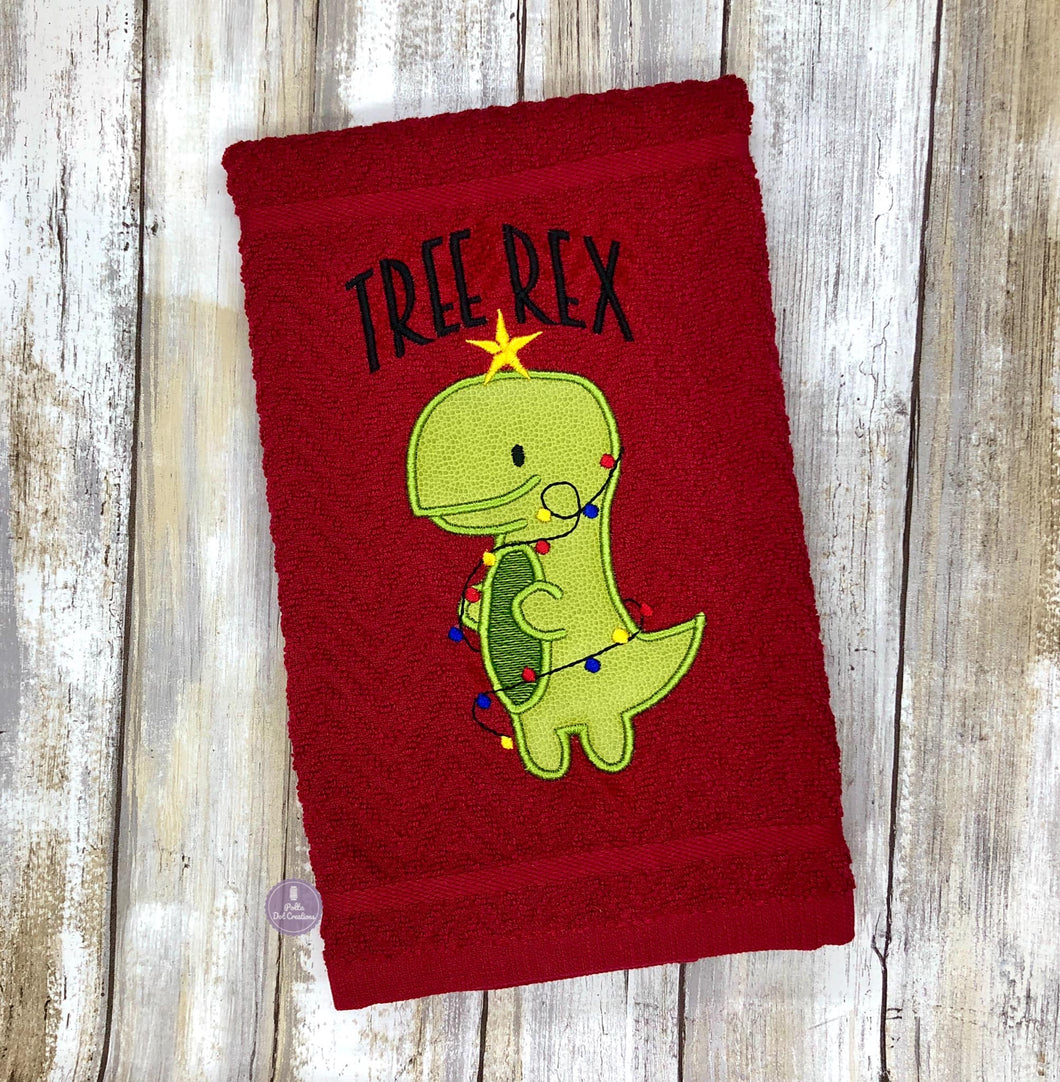 Tree Rex embroidery design 2 versions and 5 sizes included DIGITAL DOWNLOAD