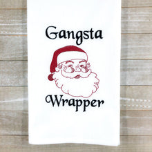 Load image into Gallery viewer, Gangsta Wrapper embroidery design 4 sizes included DIGITAL DOWNLOAD