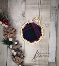 Load image into Gallery viewer, Ornament Applique Coaster 4x4 DIGITAL DOWNLOAD