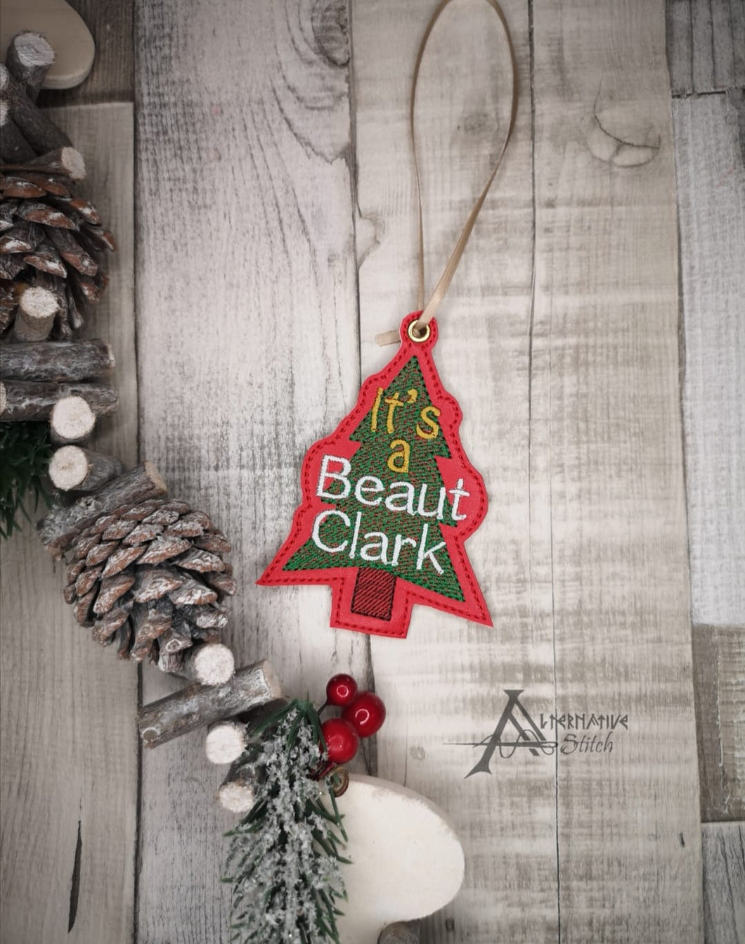 It's a Beaut Clark Ornament DIGITAL DOWNLOAD