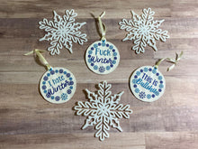 Load image into Gallery viewer, Winter Ornament set of 3 designs DIGITAL DOWNLOAD