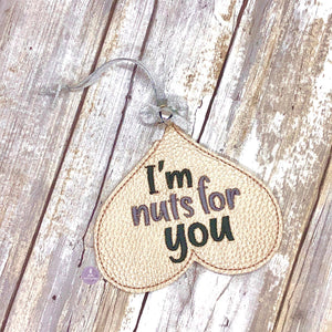 I'm nuts for you Ornament 4x4 DIGITAL DOWNLOAD