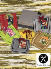 Load image into Gallery viewer, Game Cartridge Applique Bookmark DIGITAL DOWNLOAD