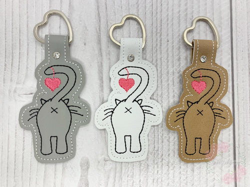 Cat Butt heart Snap tab single and multi files included DIGITAL DOWNLOAD