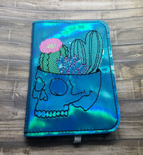 Load image into Gallery viewer, Cactus Skull Notebook Cover (2 sizes available) DIGITAL DOWNLOAD