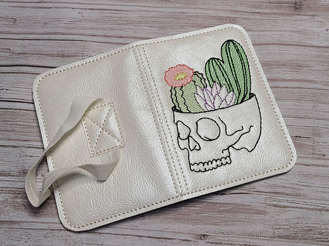 Cactus Skull Notebook Cover (2 sizes available) DIGITAL DOWNLOAD