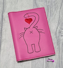 Load image into Gallery viewer, Cat Butt Notebook cover (2 sizes available) DIGITAL DOWNLOAD