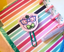 Load image into Gallery viewer, Glasses Kitty feltie (single & multi included) DIGITAL DOWNLOAD