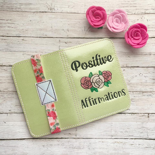 Positive Affirmations Notebook cover (2 sizes available) DIGITAL DOWNLOAD