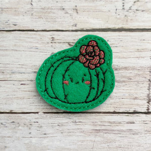 Flower Cactus feltie (single & multi file included) DIGITAL DOWNLOAD