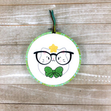 Load image into Gallery viewer, Glasses Kitty Embroidery design (5 sizes included) DIGITAL DOWNLOAD