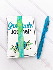 Gratitude List notebook cover (2 sizes available) DIGITAL DOWNLOAD