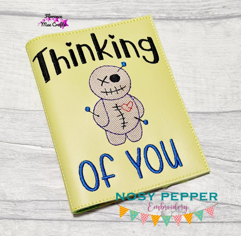 Thinking of you notebook cover (2 sizes available) DIGITAL DOWNLOAD