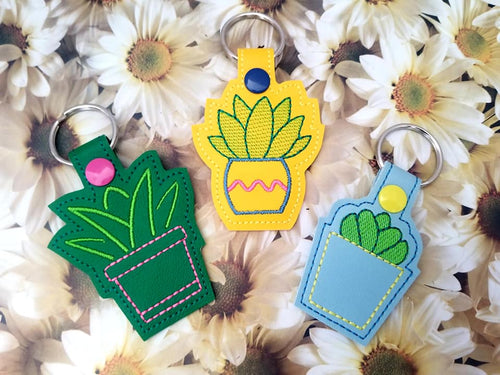 Plant Lover Snap tab Set of 3 designs (single & multi files included) DIGITAL DOWNLOAD