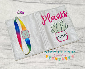 Plants Notebook Cover 2 sizes available DIGITAL DOWNLOAD