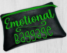 Load image into Gallery viewer, Emotional Baggage ITH Bag (4 sizes available) DIGITAL DOWNLOAD