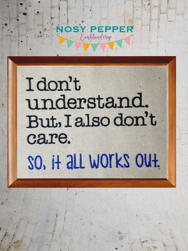 I don't understand embroidery design (4 sizes included) DIGITAL DOWNLOAD