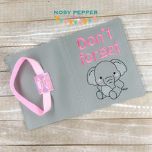 Load image into Gallery viewer, Don't forget elephant notebook cover (2 sizes available) DIGITAL DOWNLOAD
