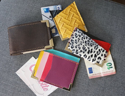 Minimalist Wallet Collection PDF Sewing Patterns