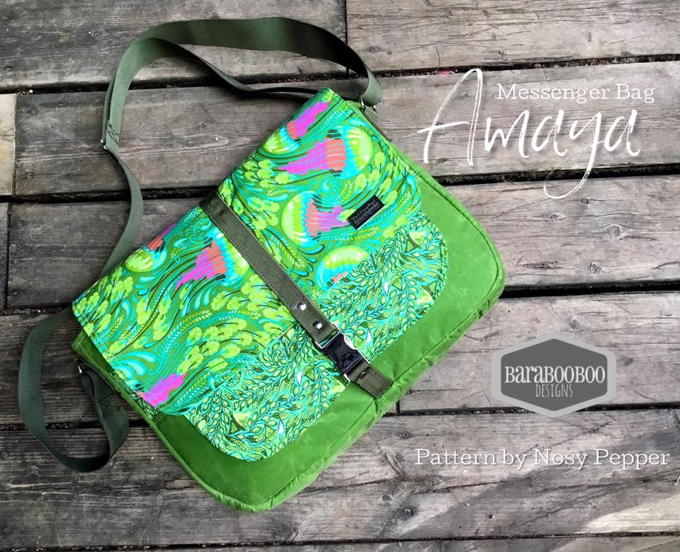 Amaya Messenger Bag PDF Pattern