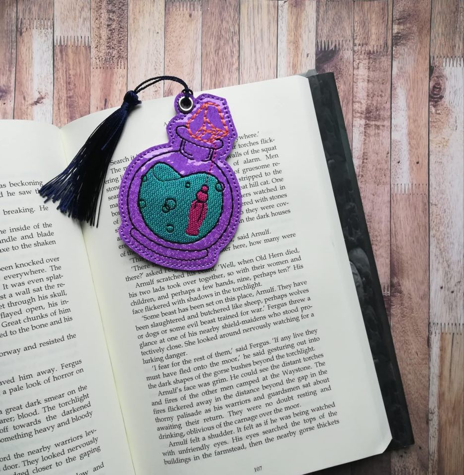 Potion Bottle Bookmark 4x4