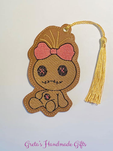 Voodoo Girl Bookmark/Ornament 4x4 DIGITAL DOWNLOAD